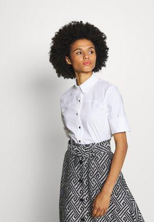 BELLA FANCY BLOUSE - Button-down blouse - white
