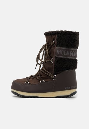 MONACO MID WP - Vinterstøvler - dark brown