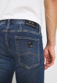 Armani Exchange - 5 POCKET PANT - Slim fit jeans - indigo denim - 6