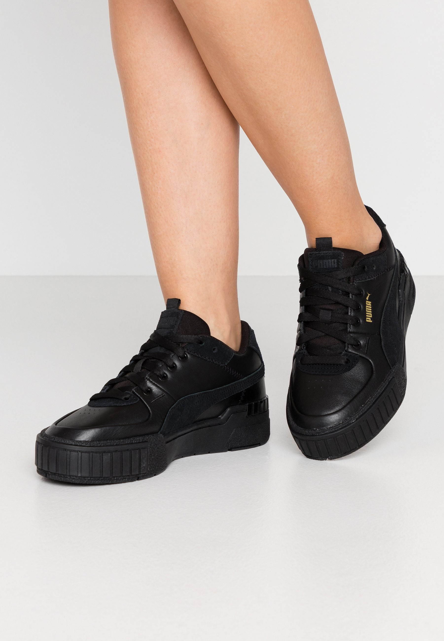 CALI SPORT MIX - Baskets basses - black