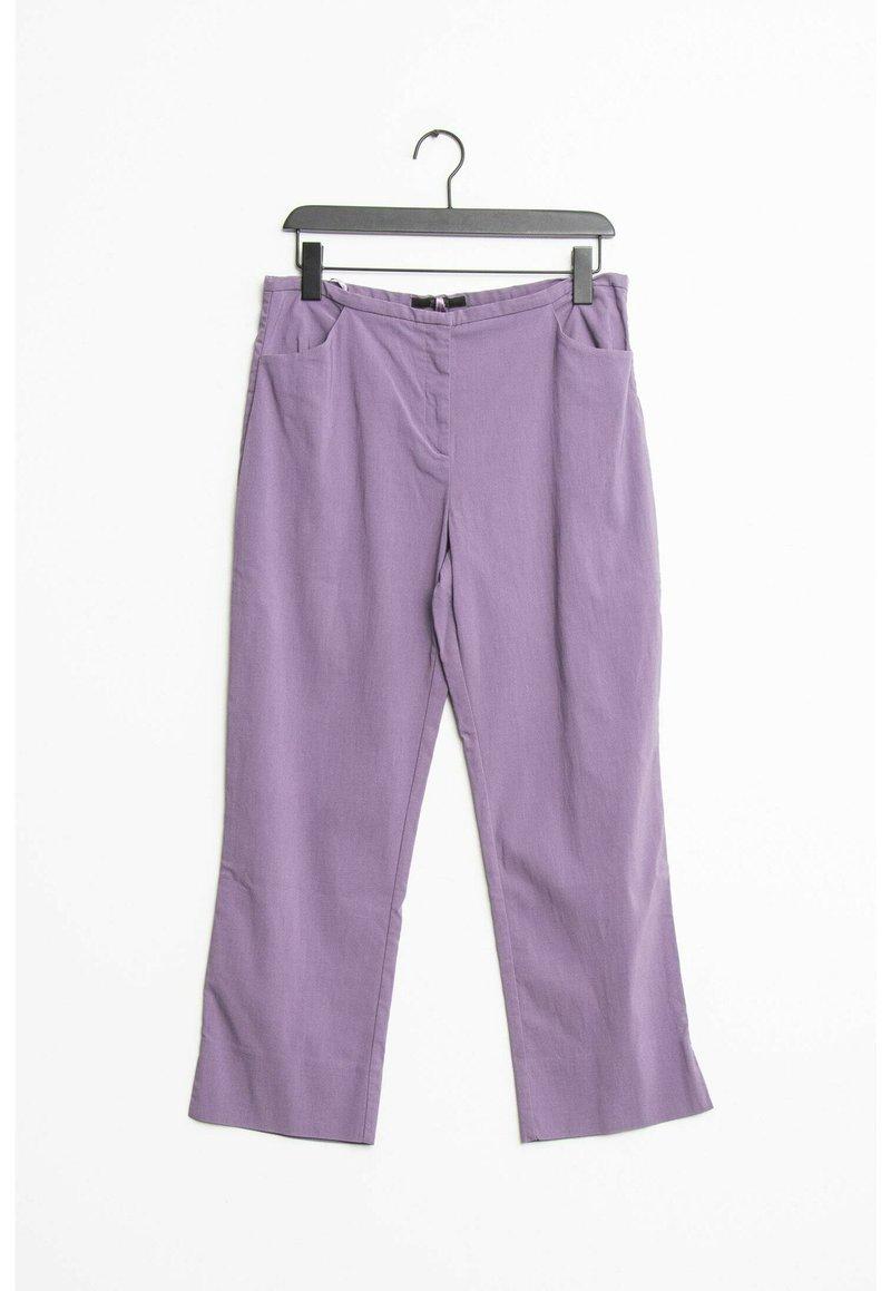 HALLHUBER - Trousers - purple