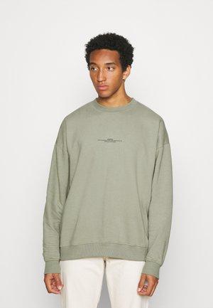 SAGE MARL ESSENTIAL - Sweater - green