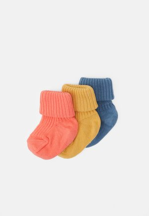 3 PACK - Socks - captains blue