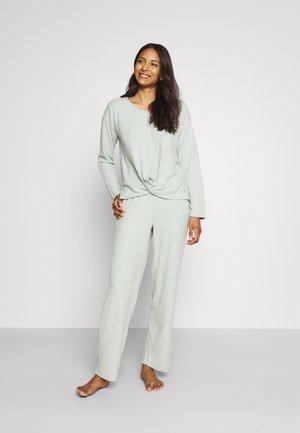 LONGSLEEVE - Pyjama top - gray green