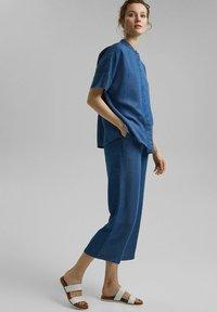 Esprit Collection - Blouse - blue medium washed - 1