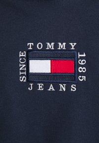 Tommy Jeans - BOX FLAG HOODIE - Felpa con cappuccio - twilight navy - 5