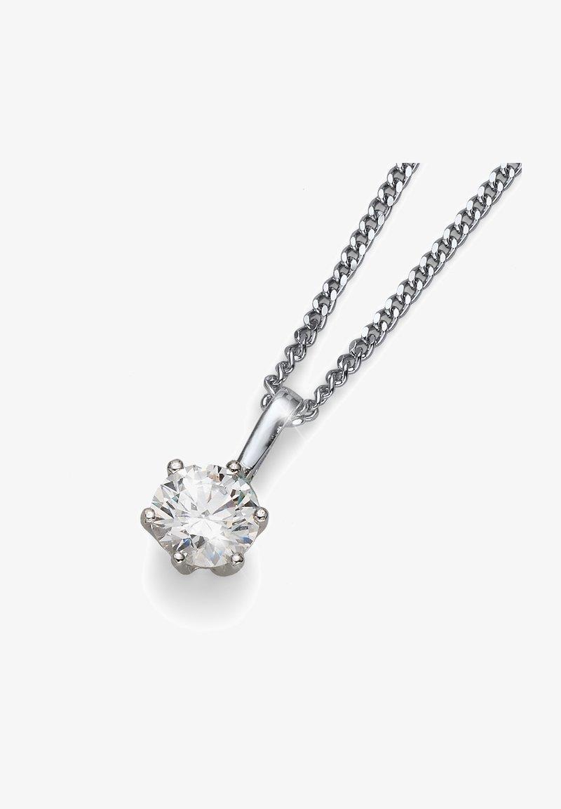 Oliver Weber - BRILLIANCE LARGE 925AG - Necklace - weiß