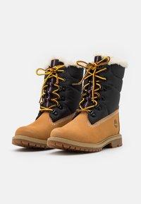 Timberland - 6 INCH HERIT PUFFER - Winter boots - wheat - 2