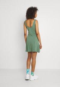 Even&Odd - Sukienka z dżerseju - light green - 2