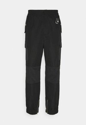 HARDWARE TROUSERS - Pantaloni cargo - black