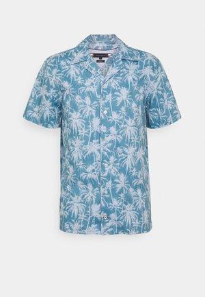 TONAL PALM  - Shirt - breezy blue