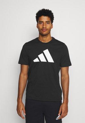 TEE BOS - Print T-shirt - black