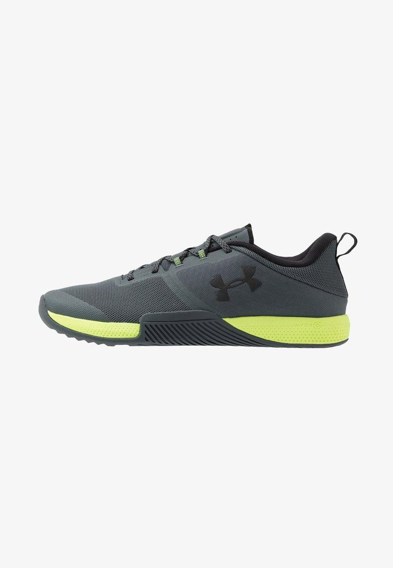Under Armour - TRIBASE THRIVE - Chaussures d'entraînement et de fitness - pitch gray/x-ray/black
