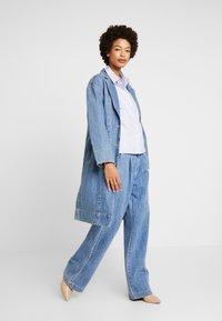 someday. - ZTELLA STRUCTURE - Button-down blouse - smart blue - 1