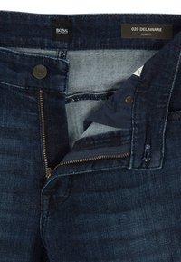 BOSS - DELAWARE - Jeans slim fit - dark blue - 5