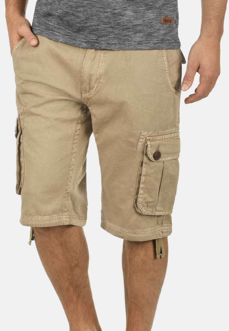 Solid - VIZELA - Shorts - dune