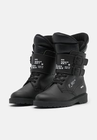 F_WD - Lace-up boots - black - 2