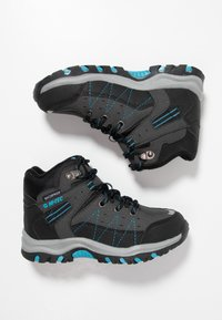 Hi-Tec - SHIELD WP - Trekingové boty - dark grey/black/lake blue - 0