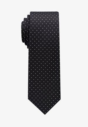 Tie - schwarz/silbergrau