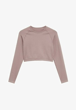 APOLINA - Long sleeved top - licht/pastelpaars