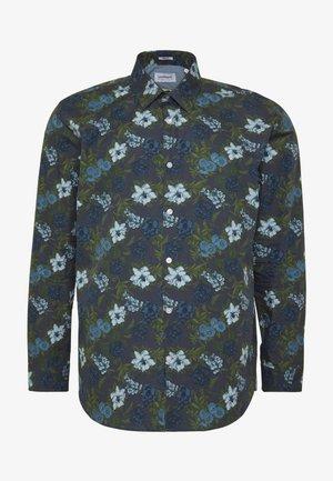 LARGE FLORAL - Košile - blue