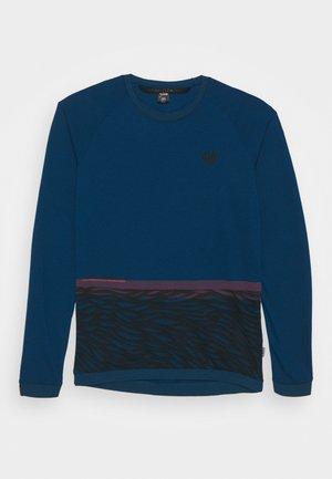 TEE SEEK - Top sdlouhým rukávem - ocean blue