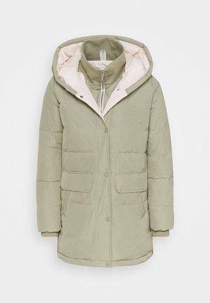 LUXURY PUFFER - Winter coat - herbal tea green