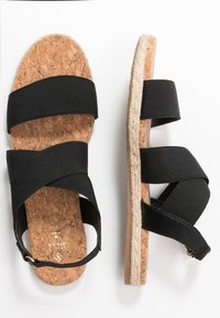 Call it Spring - MISTII - Espadrilky - black - 3