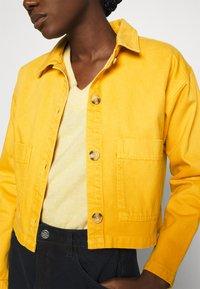 ALIGNE - CAMDEN - Denim jacket - yellow - 5