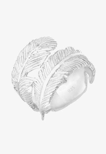 FEATHER TREND - Ring - silberfarben