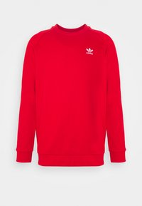 adidas Originals - ESSENTIAL CREW - Sweatshirt - scarlet/white - 0
