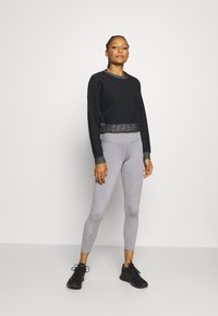 Cotton On Body - ACTIVE HIGH WAIST CORE 7/8 - Punčochy - mid grey marle - 1
