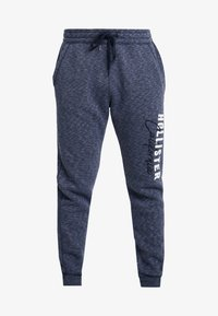Hollister Co. - Tracksuit bottoms - navy - 3