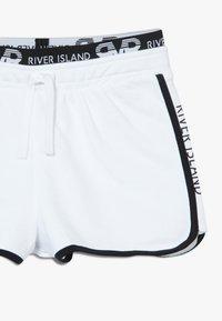 River Island - RUNNER 2 PACK  - Kraťasy - black/white - 3