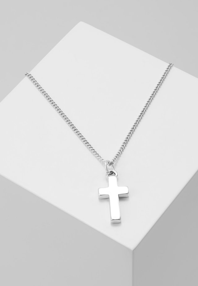 SANTI PENDANT - Collier - silver-coloured