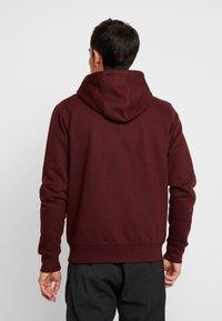 Solid - MORGAN - Zip-up sweatshirt - wine - 2