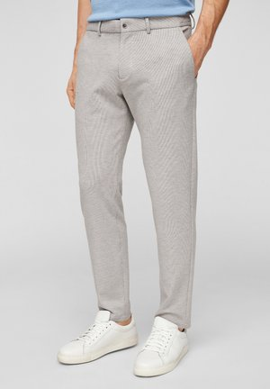 Pantaloni - light grey dobby