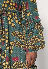 Farm Rio - TEAL BANANA MAXI DRESS - Maxi dress - multi - 5