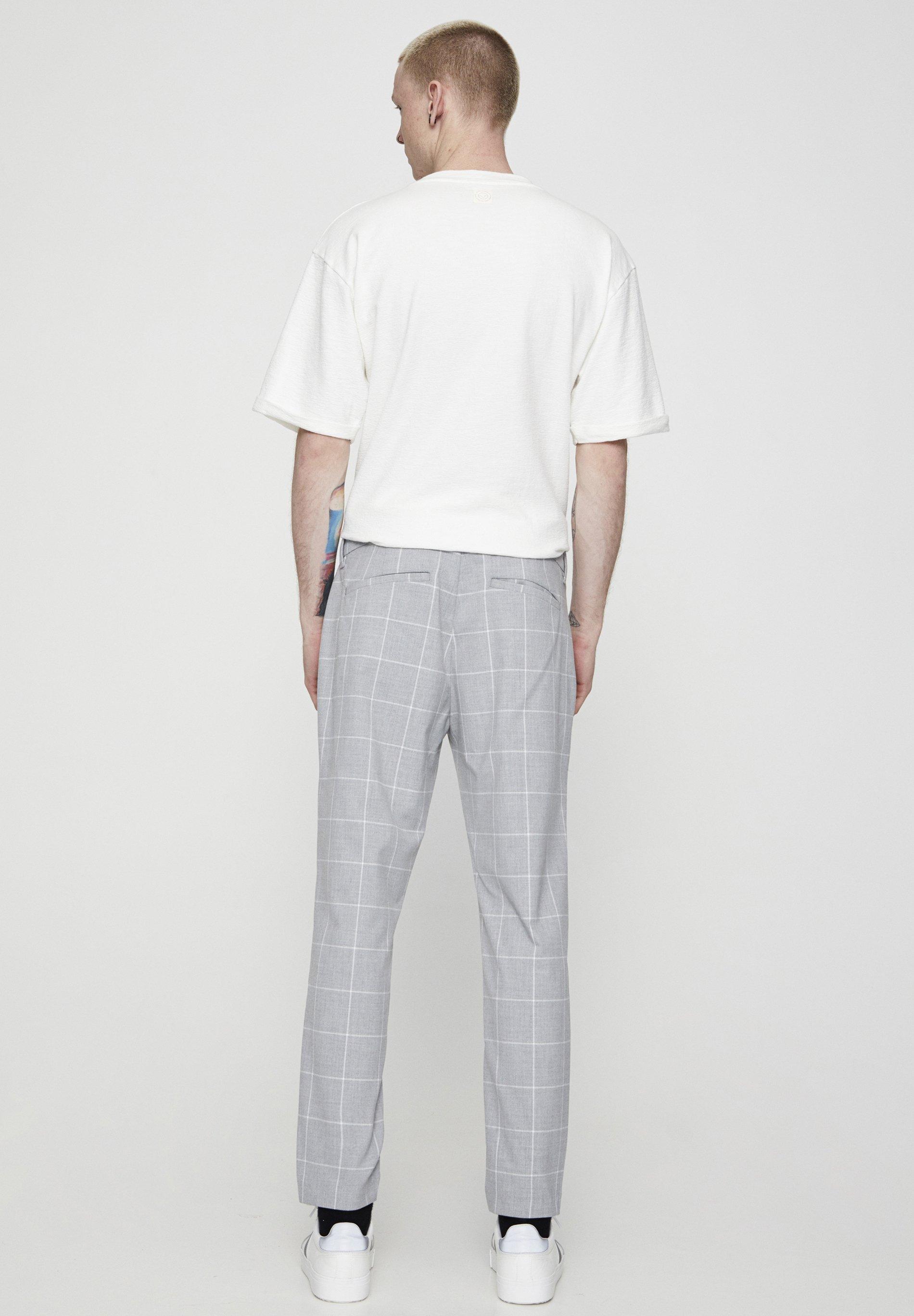 Pull&bear Stoffhose - Light Grey