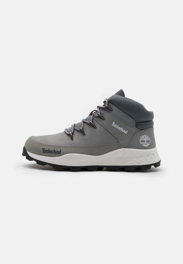 BROOKLYN EURO SPRINT - High-top trainers - medium grey