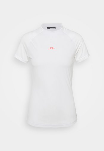 GIA GOLF - Print T-shirt - light grey