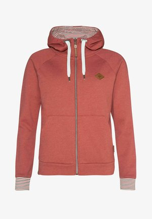 SUMATRA - Zip-up hoodie - clay