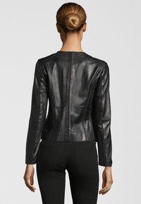KRISS - Leather jacket - black - 2