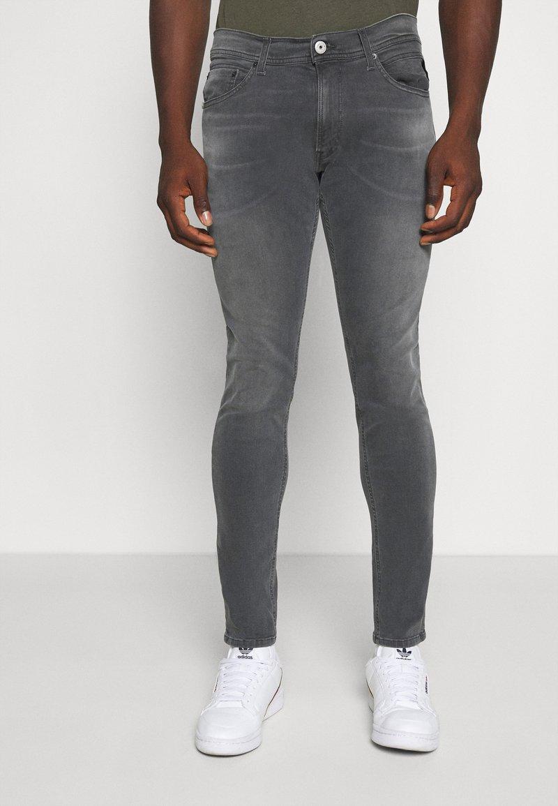 Replay - TITANIUM MAX - Slim fit jeans - medium grey