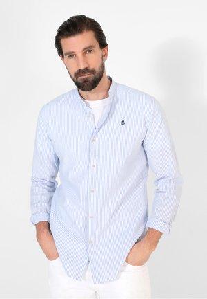 FRANK MAO  - Shirt - blue stripes