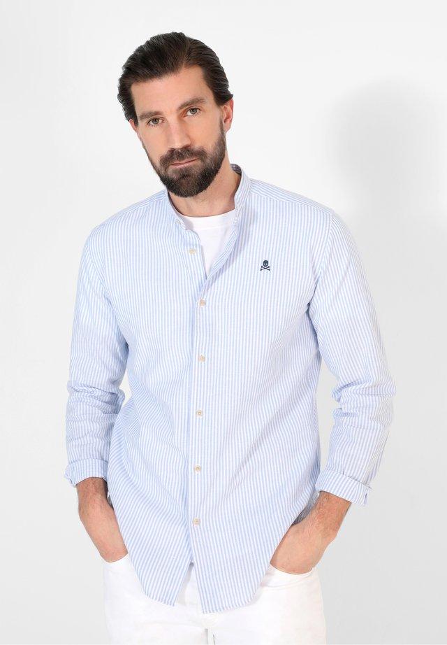 FRANK MAO  - Camicia - blue stripes