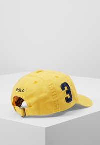Polo Ralph Lauren - BIG APPAREL HAT - Lippalakki - chrome yellow - 4