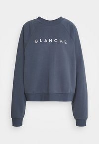 BLANCHE - HELLA EXCLUSIVE - Sweatshirt - indigo/white - 5