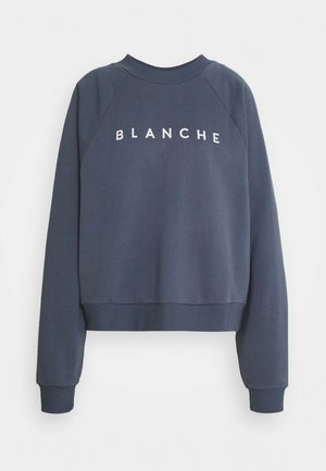 HELLA EXCLUSIVE - Sweatshirt - indigo/white