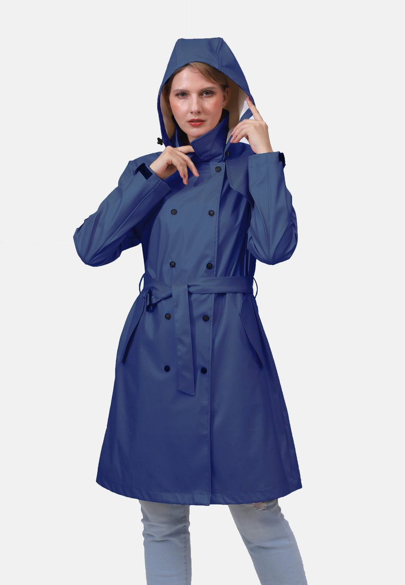 Dingy Rhythm Of The Rain - Parka - marine